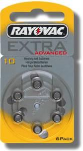 Rayovac Typ 10 - 60 Batterien